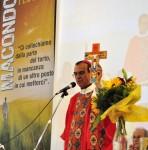 Il vescovo dom Gregorio Rosa Chávez ha presieduto la celebrazione eucaristica nel pomeriggio
